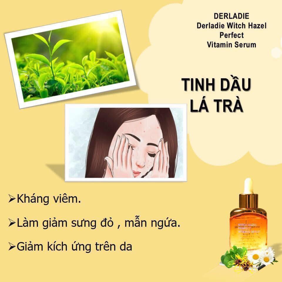 Derladie Witch Hazel Perfect Vitamin Serum Rview có tốt không? 1