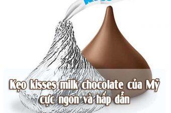 Kẹo hershey's kisses milk chocolate của mỹ