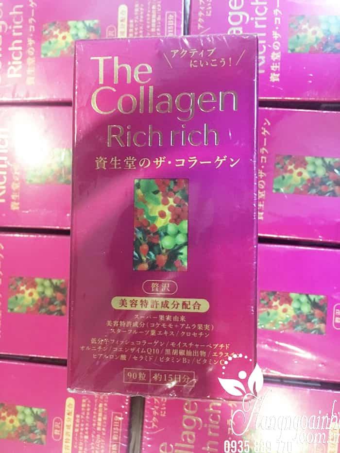 [Hot] Collagen rich rich dạng viên mẫu mới 2018 Japan đã có tại VN 2