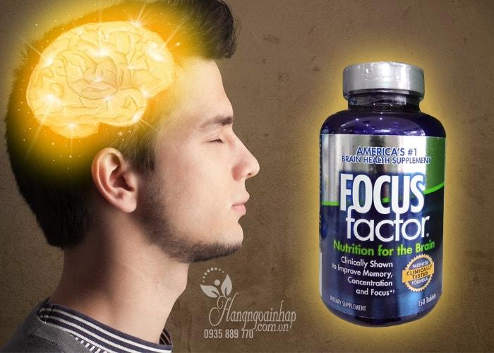 Cách sử dụng thuốc bổ não focus factor 150 viên từ chuyên gia