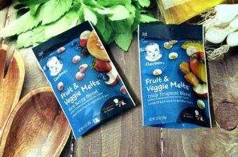 Sữa chua khô Gerber Fruit & Veggie Melts có tốt không-1