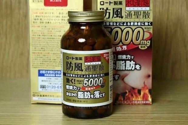 Thuốc giảm mỡ bụng Rohto 5000mg, hỗ trợ giảm cân hiệu quả 1