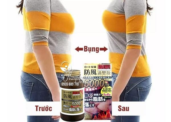 Thuốc giảm mỡ bụng Rohto 5000mg, hỗ trợ giảm cân hiệu quả 8
