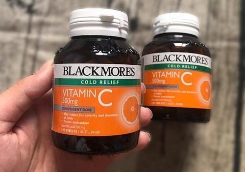 Viên uống vitamin C 500mg Blackmores có tốt không-1