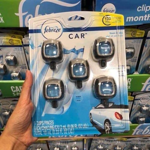 Set 5 lọ nước hoa xe hơi Febreze Car giá bao nhiêu-2
