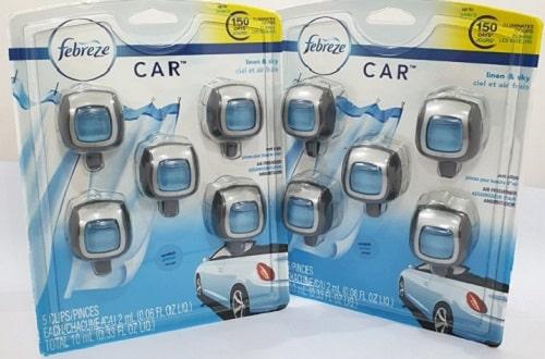 Set 5 lọ nước hoa xe hơi Febreze Car giá bao nhiêu-3