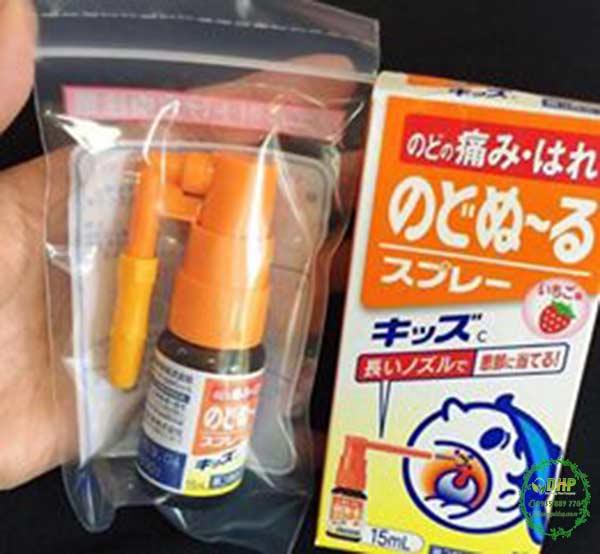 Thuốc xịt viêm họng, trị ho kobayashi của Nhật có tốt không?