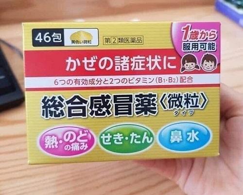 Thuốc cảm cúm cho trẻ Taisho Pabron Gold A có tốt không-2