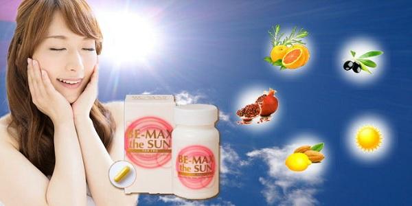 Viên uống chống nắng Be Max The Sun For Pro 30 viên 5