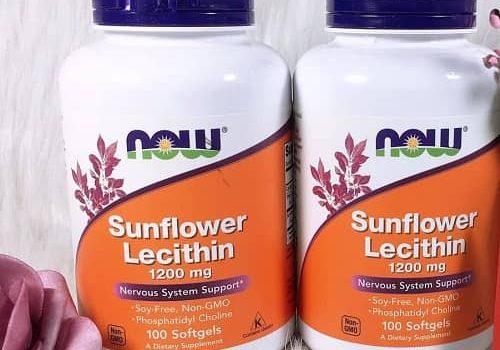 Viên uống chống tắc sữa Sunflower Lecithin có tốt không-1