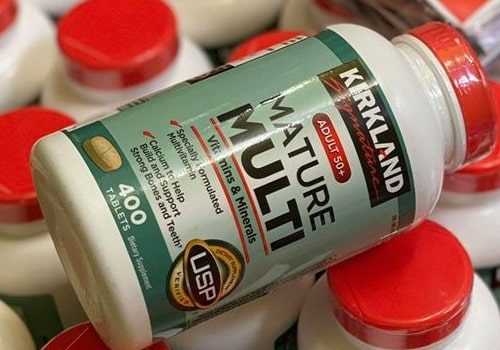 Review vitamin tổng hợp Kirkland Signature Mature Multi Adult 50+-1
