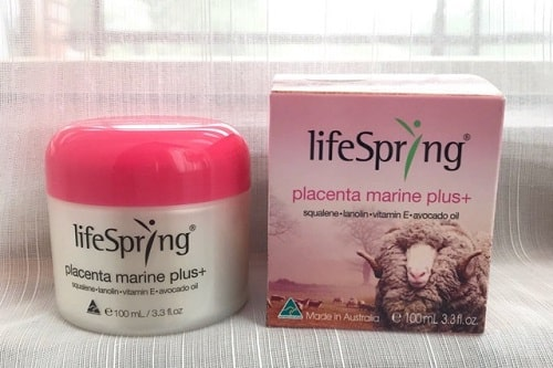 Tác dụng của kem nhau thai cừu Lifespring màu hồng là gì-2