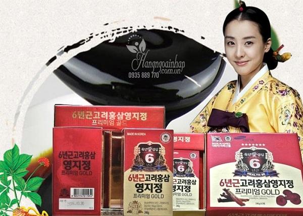 Cao hồng sâm linh chi Taewoong 2 lọ x 240g chính hãng Hàn Quốc 9