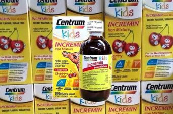 Review siro Centrum Kids Incremin Iron Mixture của Úc-1
