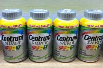Review vitamin tổng hợp Centrum Silver Adults 50+ 285 viên của Mỹ-1
