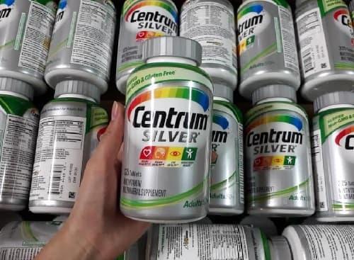 Review vitamin tổng hợp Centrum Silver Adults 50+ 285 viên của Mỹ-4