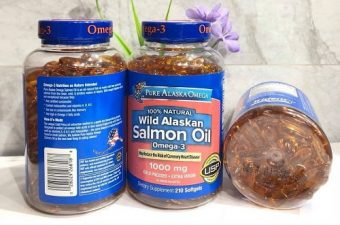 Công dụng của Omega-3 Wild Alaskan Salmon Oil 1000mg-1