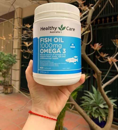 Healthy Care Fish Oil 1000mg Omega-3 cách dùng-2