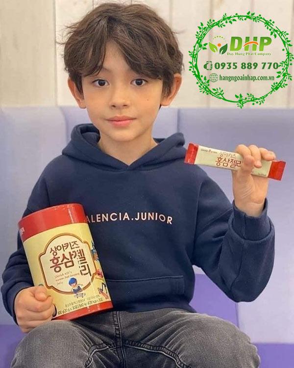 SANGA KID Korean Red Ginseng Jelly review tốt không và giá bao nhiêu1