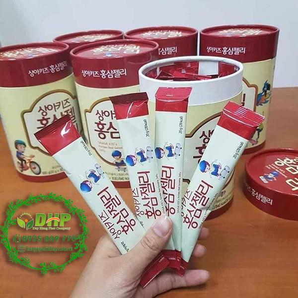 SANGA KID Korean Red Ginseng Jelly review tốt không và giá bao nhiêu
