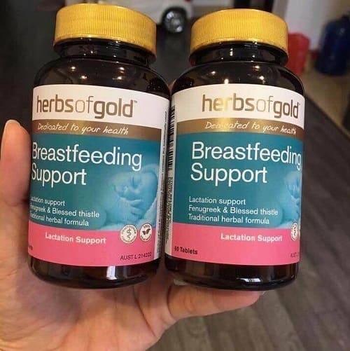 Thuốc lợi sữa Herbs of Gold có tốt không?-2