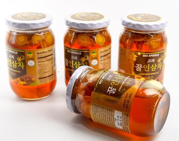 Sâm ngâm mật ong Bio Apgold 580g chính hãng Hàn Quốc 1