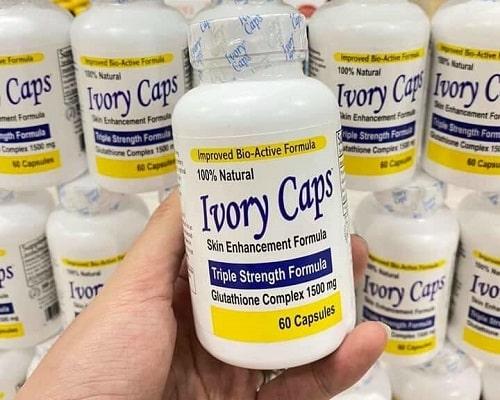 Cách uống Ivory Caps hiệu quả? Uống bao lâu thì trắng?-2