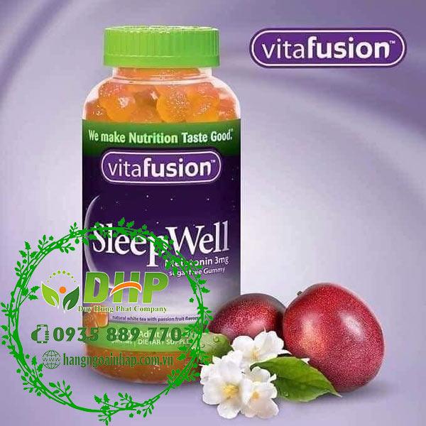Kẹo bổ giúp ngủ ngon sleepwell review tốt không?