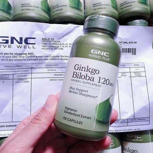 Thuốc GNC Ginkgo Biloba 120mg giá bao nhiêu?-2