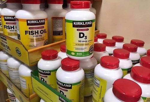 Viên uống Kirkland D3 50mcg 2000IU giá bao nhiêu?-3